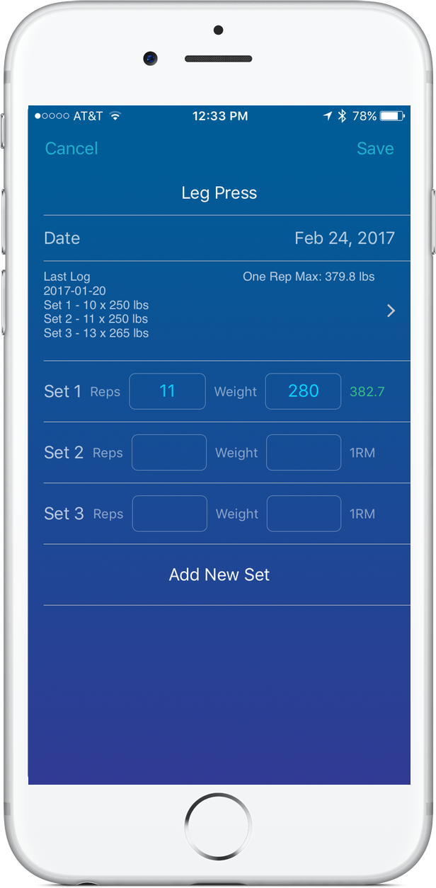 Focused on Fit App