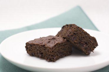 High Protein Whole Wheat Tofu Black Bean Brownie