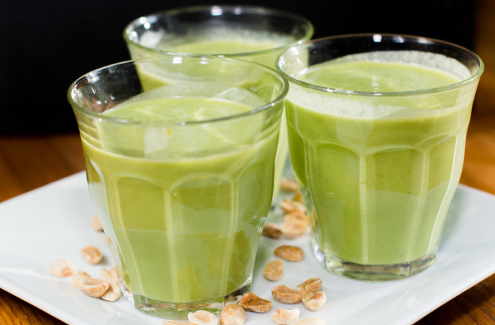 Nutty Green Protein Smoothie