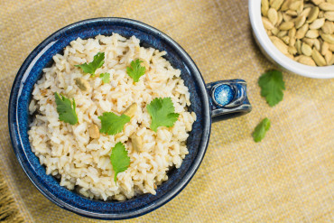 Indian-Spiced Brown Rice