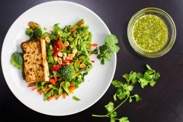 Tofu Thai Chopped Salad