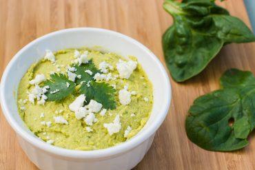 Spinach Feta Hummus