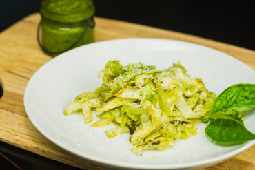Cabbage Pesto 'Pasta'