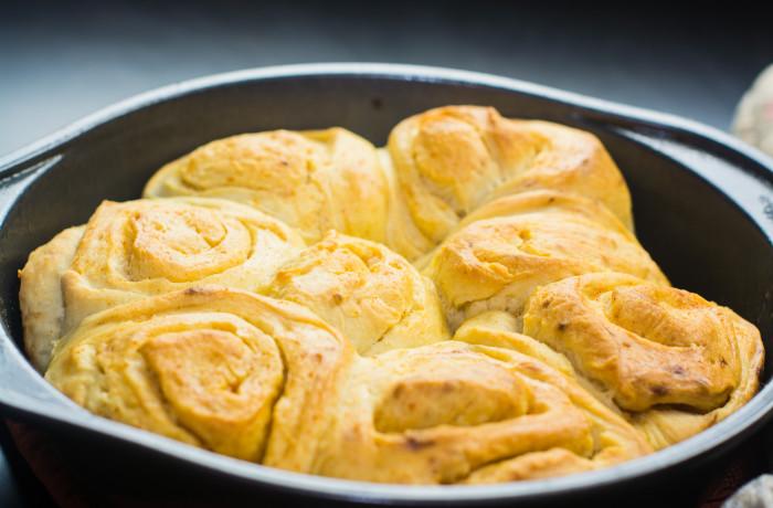 Buttery Sourdough Buns