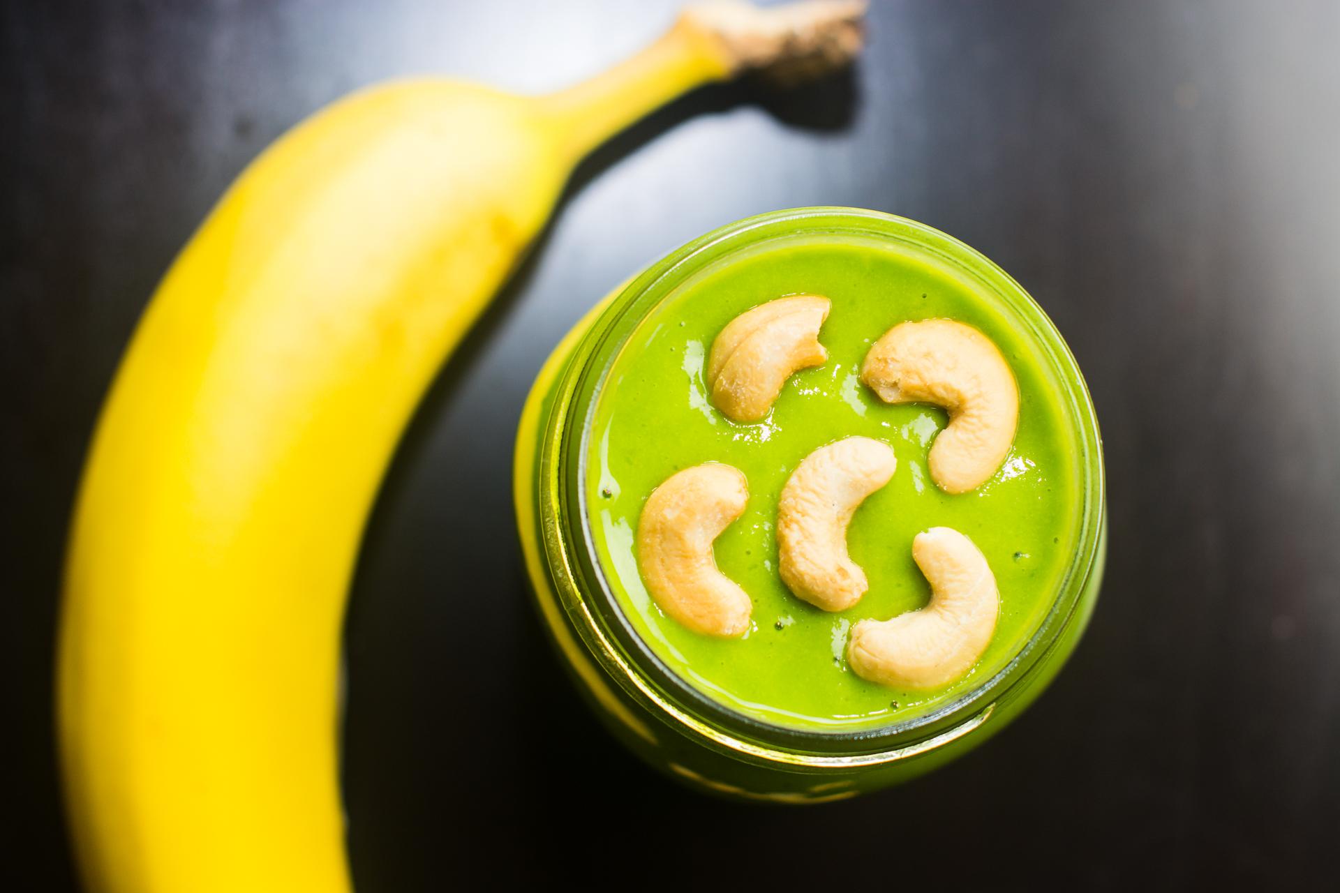 Orange Banana Green Smoothie