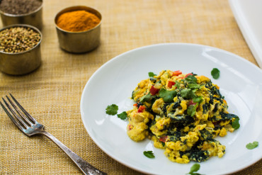 Indian Egg White Scramble