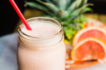 Ruby Red Grapefruit Smoothie