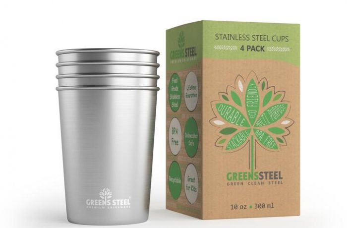 Greens Steel Stainless Steel Tumblers